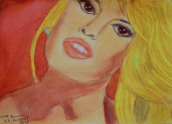 Brigitte Bardot by flowerpowertintenfisch